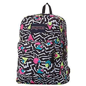 Jansport Superbreak Black/White Bobop T5010EJ