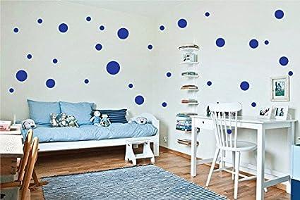 Parete A Pois Fai Da Te : Adesivi pois per decorazione da parete camera bambini stickers