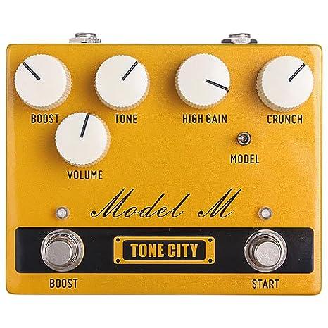 Tone City Model M · Pedal guitarra eléctrica: Amazon.es: Instrumentos musicales