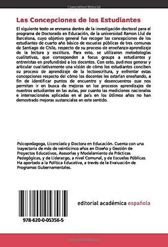 Las Concepciones de los Estudiantes: sobre el Aprendizaje de la Lectoescritura: Amazon.es: Yacometti Zunino, Ornella V.: Libros