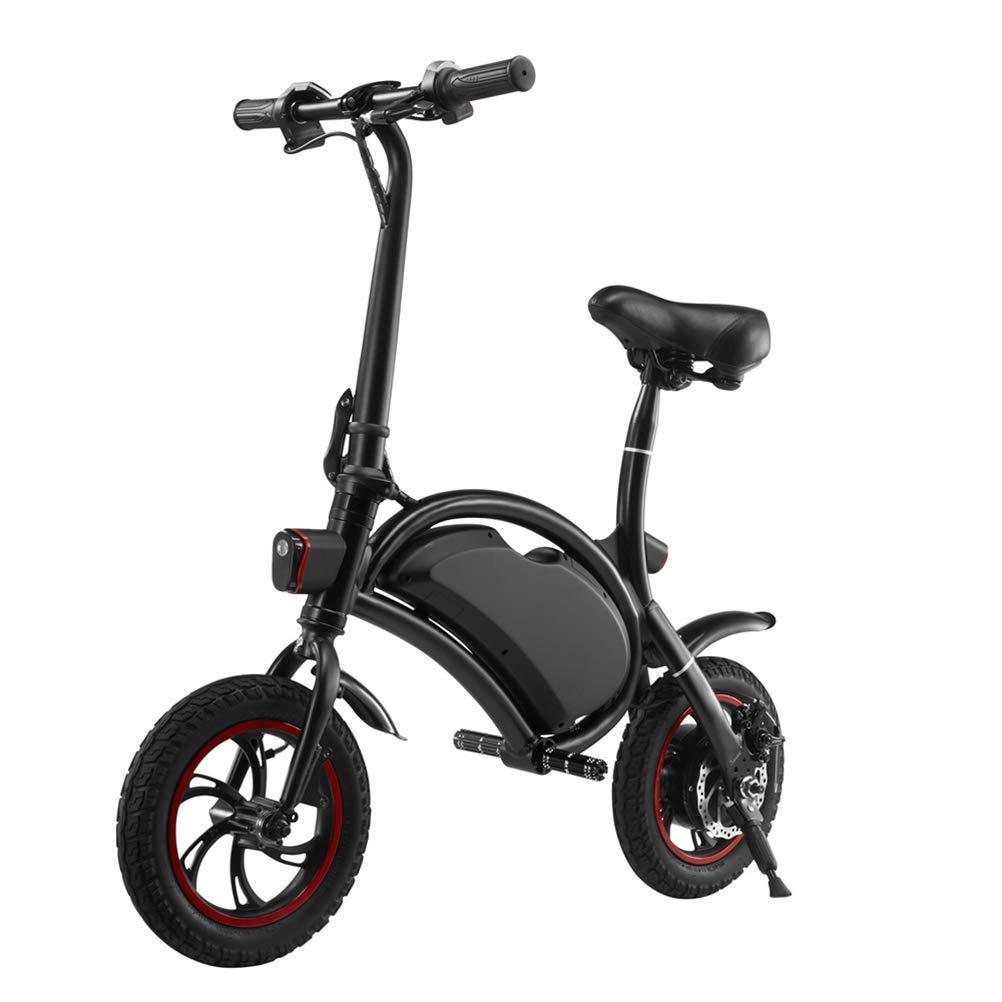 LHSUNTA Bicicleta eléctrica Plegable/E-Bike/Scooter 350W ...