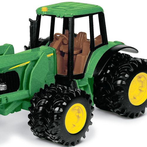 John Deere Tractor With Bale Mover