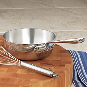 All Clad Stainless Steel Saucier Pans