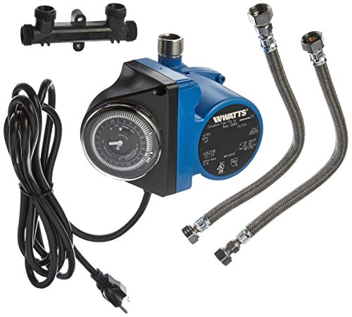 Watts 500800 Instant Hot Water Recirculating System with Built-In Timer, Easy to (Watts Hot Water Pump)