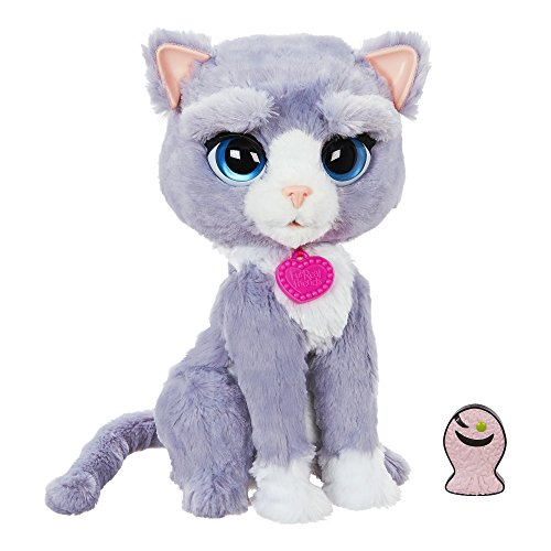 FurReal B5936AF1 Bootsie Interactive Plush Kitty Toy, Ages 4 & Up