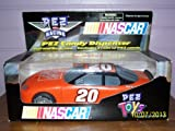 2005 - Pez Candy Inc / NASCAR - Pez Candy Dispenser - #20 Tony Stewart / Home Depot Stock Car - Pull & Go Action - Includes 3 Rolls of Pez Candy - Rare - Out of Production - New - Mint - Collectible