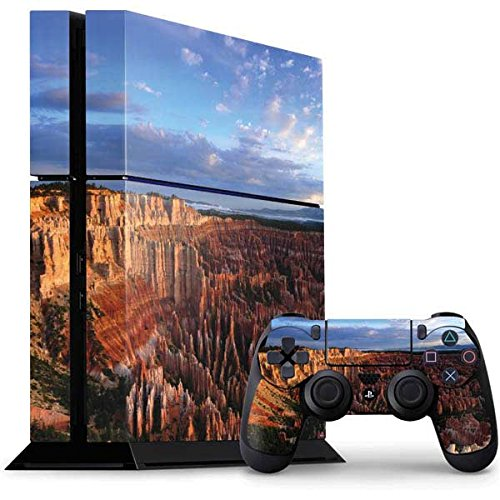 (Nature PS4 Console and Controller Bundle Skin - Clouds over Bryce Canyons Amphitheater | Photography & Skinit Skin)