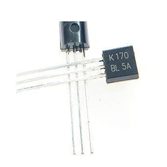 40pcs/lot 2SK170-BL 2SK170BL 2SK170 K170 TO-92 IC: Amazon com