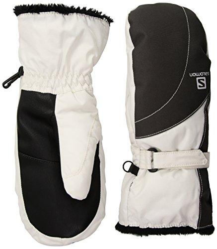 Salomon Women's Force Mitten GTX Gloves, Forged Iron, Medium (Gloves Ski Salomon)