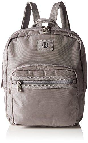 Bogner Leather Backpack 3 - Bolso mochila Mujer Gris - Grau (vapor 359)