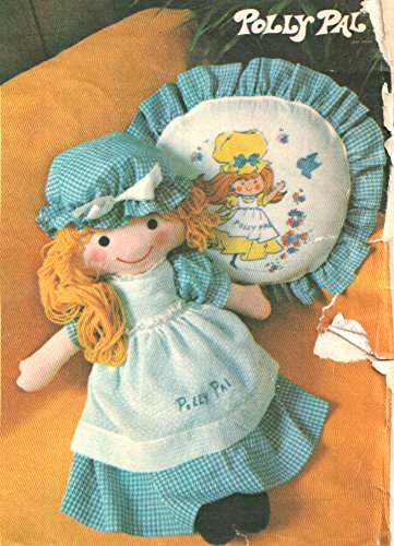 (Vintage Butterick 4519 Polly Pal Stuffed Doll, Clothing and Pillow Sewing Pattern by Butterick Pattern Service)