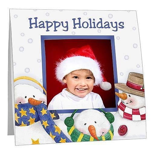 Snowmen PolaroidTM Easel Frame Sold in 25s - 3.300x3.300 ()
