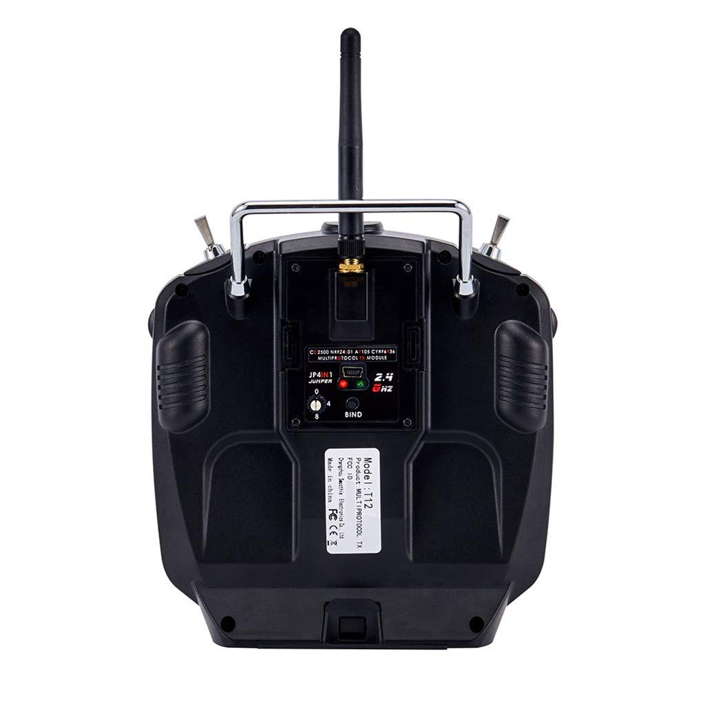 Giokfine 2019 Jumper T12 OpenTX 16CH Radio Transmitter with JP4-in-1 Multi-Protocol RF Module by Giokfine (Image #3)