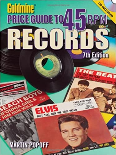 Book 'Goldmine' Price Guide to 45 RPM Records