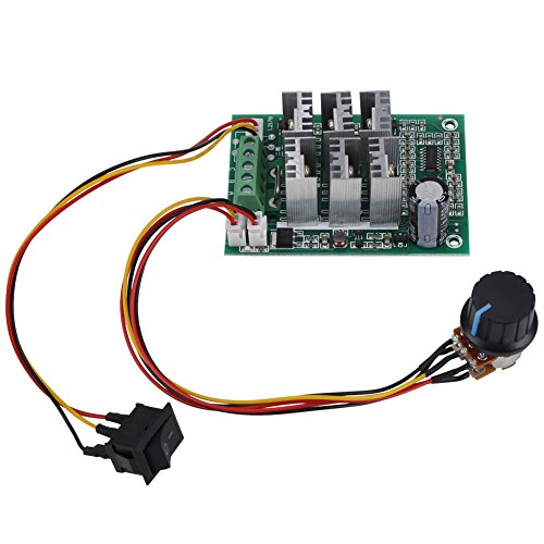 DC 5V-36V 15A 3-Phase Brushless Motor Speed Controller Motor Control Board CW CCW Reversible Switch Motor Driver Control Regulator - Motor Voltage Phase 3