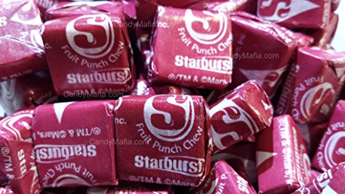 Red Fruit Punch - Starburst Fave Reds - Fruit Punch Starburst 2 Pounds