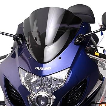 MPW Double Bubble Smoked Windshield Screen for Suzuki GSX-R 600//750 04-05