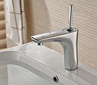 ETERNAL QUALITY Bathroom Sink Basin Tap Brass Mixer Tap Washroom Mixer Faucet The copper hot and cold water basin Mixer Taps antioxidant art bathroom faucet high temperature grill