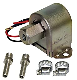 EMPI Electric Fuel Pump Universal, 4.0-8.0 PSI VW Bug, Sand Rail, Dune Buggy 41-2530-8