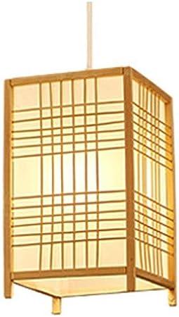 LSSB Araña de Estilo Chino de bambú Arte de bambú Pantallas de iluminación de la lámpara