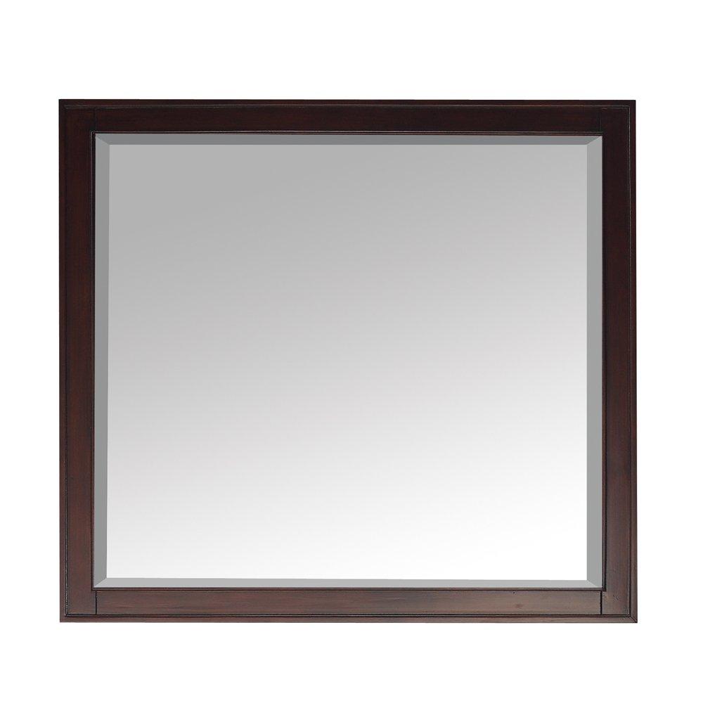 mirror 36 x 36. amazon.com: avanity madison 36 in. mirror in light espresso finish: home \u0026 kitchen x