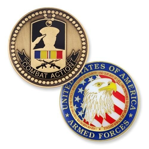 (Combat Action Coin for All Service Branches)