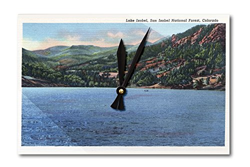 Lake Isabel, Colorado - San Isabel National Forest (Acrylic Wall Clock)