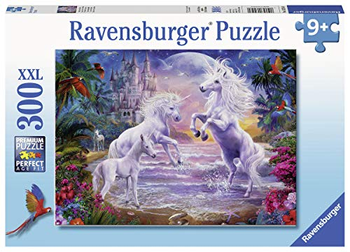 (Ravensburger 13256 Unicorn Paradise, 300 Piece Puzzle for Kids, Every Piece is Unique, Pieces Fit Together Perfectly)