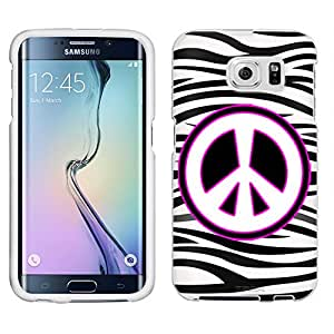 Samsung Galaxy S6 Case, Snap On Cover by Trek Peace on Zebra Print Case