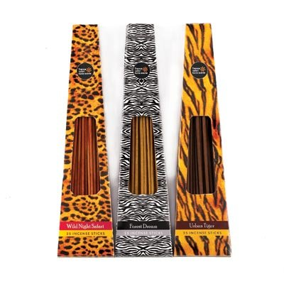 Animal Print Incense Pack Trio by Furniture Creations