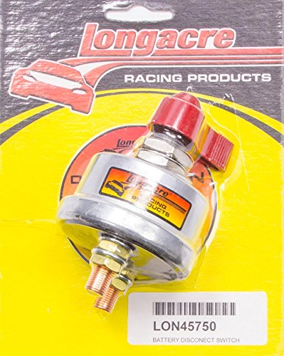 Longacre Racing 52-45750 Battery DISCONECT Switch
