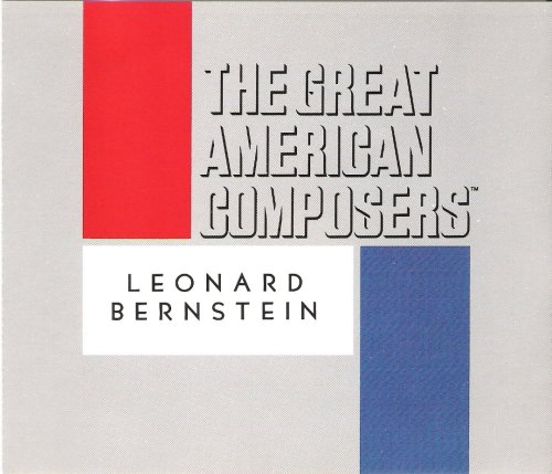 The Great American Composers - Leonard Bernstein (Audio CD) (Bernstein In Tahiti Trouble)