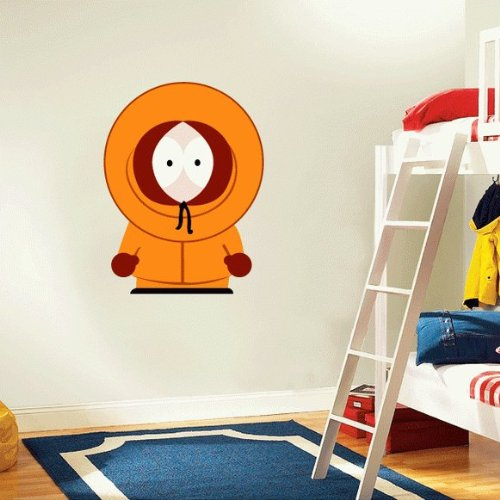 19 Wall Sticker - South Park Kenny Cartoon Wall Decal Sticker 19
