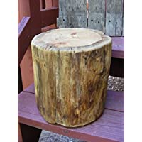 Pine Stump Stool Table Photo Prop Plant Stand 9 - 10 diameter