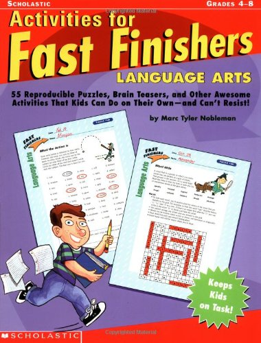 Download Activities For Fast Finishers: Language Arts pdf