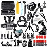[68-in-1] Accessories Kit for GoPro HERO8 Black, GoPro MAX, Hero 8 7 6 5 4 3+, Session 5, Accessory Bundle Set for AKASO, APEMAN, DBPOWER, Campark, DJI OSMO, Lightdow, SJCAM, Sony, Yi Action Camera