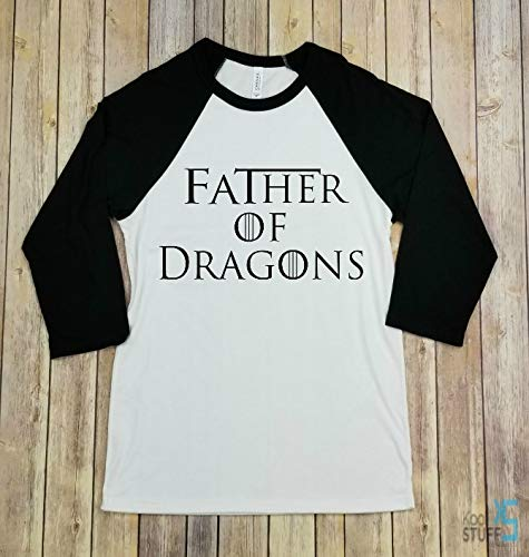 6c313d70 Father of Dragons, Raglan Shirt, Game of Thrones, Birthday Gift, Gift For  Dad, Dad Gift, Vintage, Dragons, GOT Gift, Dragon Shirt, Anniversary Gift,  ...