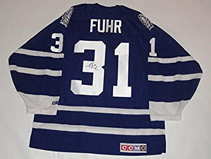 960ee44a Image Unavailable. Image not available for. Color: Grant Fuhr Autographed  Jersey - #31 Ccm Vintage Proof Hof Rare ...