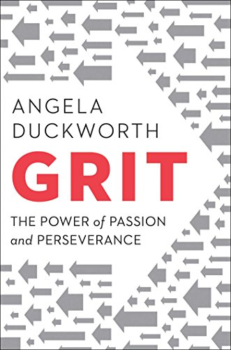 A book cover of Angela Duckworth's book Grit