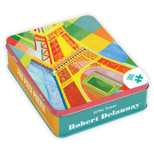 (Robert Delaunay Eiffel Tower (Jigsaw Puzzle in Tin 300 Piece) by Robert Delaunay (2014-10-01))