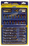 Eazypower 81962 100-Piece Security and Non-Security Screwdriver Bit Assortment in Heavy Duty Storage Case