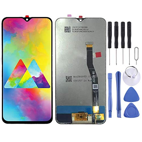 LCD Phone Screen LLP LCD Screen and Digitizer Full Assembly for Galaxy M20 (Black) (Color : Black)
