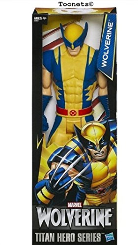 (Wolverine X-Men Action Figure Toy The AVENGERS Marvel Titan Hero 12