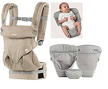 a1559c6befc Ergobaby baby carrier 360 Moonstone (Just introduced new 2016 color)  Including Grey original Insert