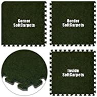Best Floor SoftCarpets Grass Green Total
