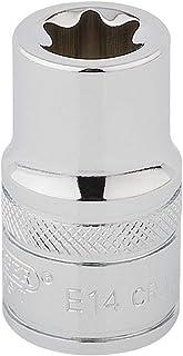 Draper 34285 TX-Star 1/2 Inch Square Drive E14 Socket