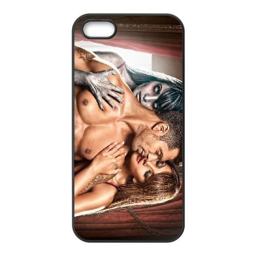 Alone Movie Wide coque iPhone 5 5S cellulaire cas coque de téléphone cas téléphone cellulaire noir couvercle EOKXLLNCD21552