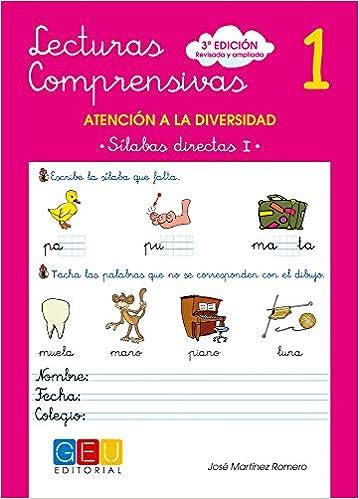 Lecturas Comprensivas 1 - Sílabas Directas I por José Martínez Romero epub