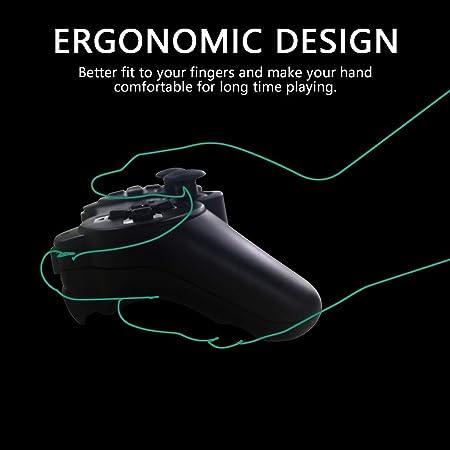 Mando PS3 inalámbrico Bluetooth PS3 Controller Doble vibración Six ...