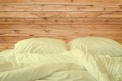 "Americano Casa Super Soft Long Staple Egyptian cotton 4 PC Bedding sheet set 500 TC, Italian finish Bed sheet 500 fits upto 15"" deep pocket mattress Made In USA Queen, ()"